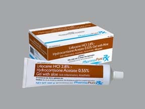 LIDOCAINE-HC 2.8-0.55% GEL
