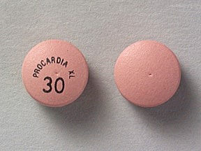 PROCARDIA XL 30 MG TABLET