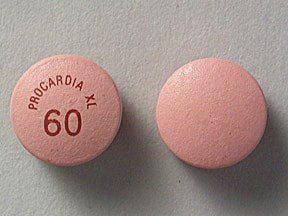 PROCARDIA XL 60 MG TABLET