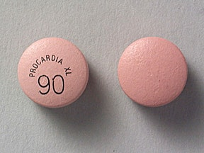 PROCARDIA XL 90 MG TABLET