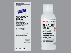 KENALOG 0.147 MG/GRAM SPRAY