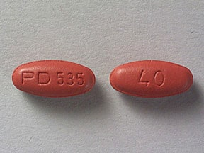 ACCUPRIL 40 MG TABLET