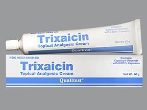 TRIXAICIN 0.025% CREAM