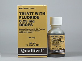 TRI-VIT-FLUOR 0.25 MG/ML DROP