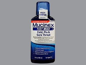 MUCINEX COLD-FLU-SORETHROAT LQ