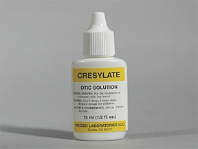 CRESYLATE EAR DROPS