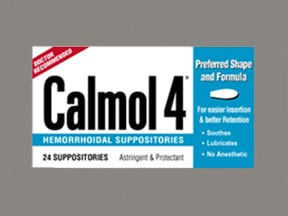 CALMOL 4 SUPPOSITORY