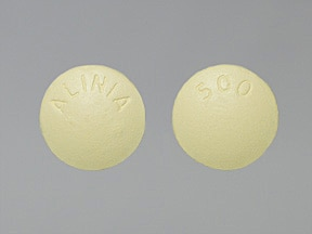ALINIA 500 MG TABLET