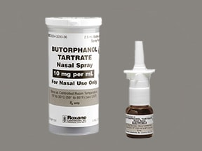 BUTORPHANOL 10 MG/ML SPRAY