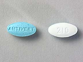 ANTIVERT 12.5 MG TABLET