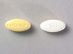 ANTIVERT 25 MG TABLET