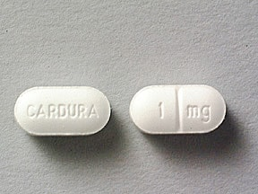 CARDURA 1 MG TABLET