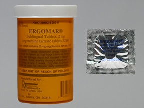 ERGOMAR 2 MG TABLET SL