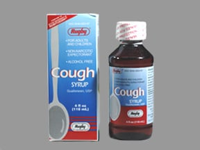 COUGH SYRUP 100 MG/5 ML