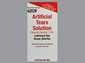 ARTIFICIAL TEARS 1.4 % DROPS