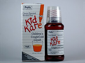 KIDKARE COUGH & COLD LIQUID