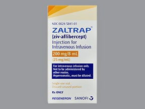 ZALTRAP 200 MG/8 ML VIAL