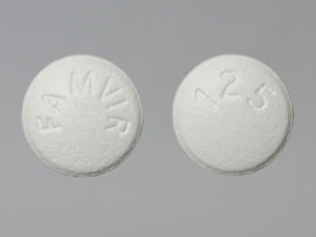 FAMVIR 125 MG TABLET