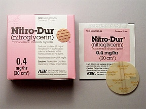 NITRO-DUR 0.4 MG/HR PATCH