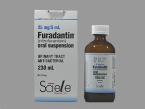 FURADANTIN 25 MG/5 ML SUSP