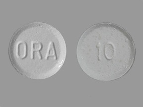 ORAPRED ODT 10 MG TABLET