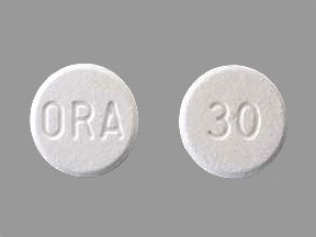 ORAPRED ODT 30 MG TABLET
