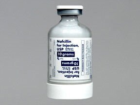 NAFCILLIN 10 GM VIAL