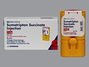 SUMATRIPTAN 4 MG/0.5 ML CART