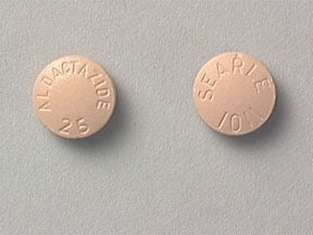 ALDACTAZIDE 25-25 TABLET