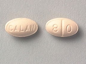 CALAN 80 MG TABLET