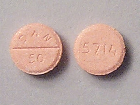 AMOXAPINE 50 MG TABLET
