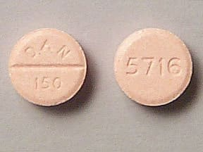 AMOXAPINE 150 MG TABLET