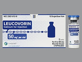 leucovorin calcium injection : Uses, Side Effects