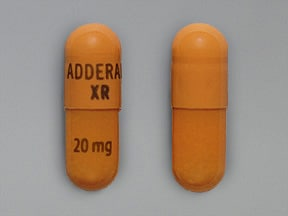 ADDERALL XR 20 MG CAPSULE