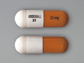 ADDERALL XR 25 MG CAPSULE