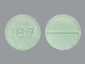 Light Green Pill 187 Oxycodone