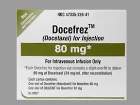 DOCEFREZ 80 MG VIAL