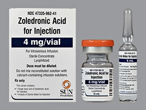 ZOLEDRONIC ACID 4 MG VIAL