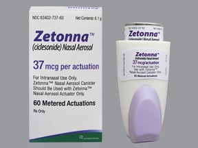 ZETONNA 37 MCG NASAL SPRAY
