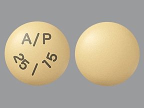 OSENI 25-15 MG TABLET