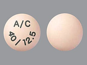 EDARBYCLOR 40-12.5 MG TABLET