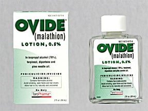 OVIDE 0.5% LOTION