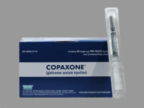 COPAXONE 20 MG/ML SYRINGE