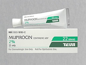 what is mupirocin for #10
