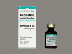 OCTREOTIDE ACET 200 MCG/ML VL