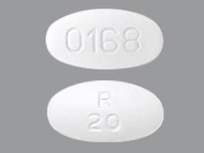 OLANZAPINE 20 MG TABLET