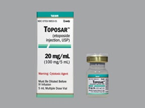 TOPOSAR 100 MG/5 ML VIAL