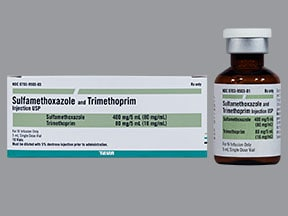 SULFAMETHOXAZOLE-TMP INJ VIAL