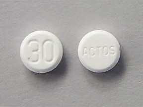 PIOGLITAZONE HCL 30 MG TABLET