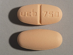 KEPPRA 750 MG TABLET
